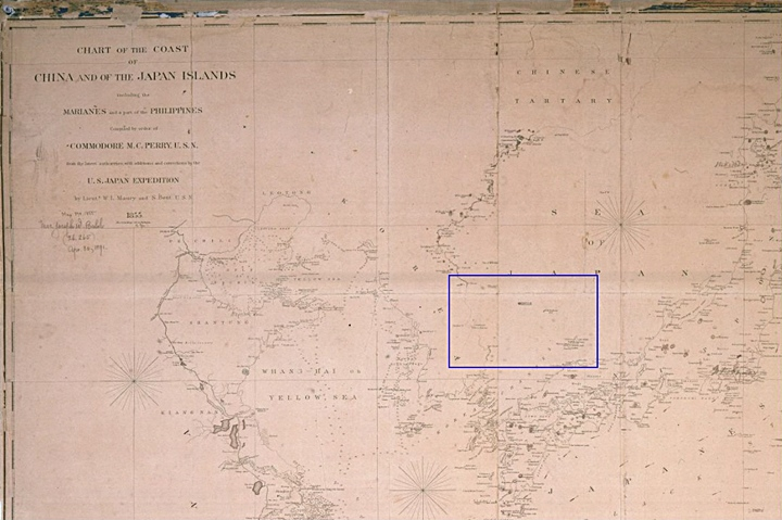 This 1855 American map shows Argonaut Island as