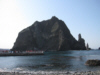 獨島 竹島 From Dokdo East Islet looking at the West