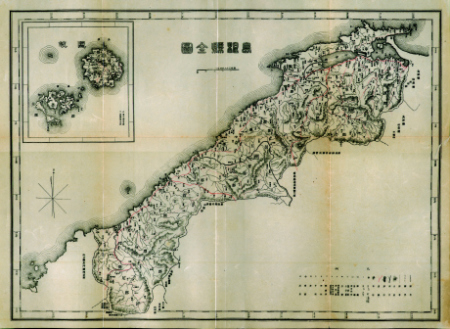 Two years before Japan seized Dokdo Island the islets were outside of Japanese territory