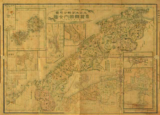 Even after Japan seized Dokdo this 1907 Japanese map lacked the island