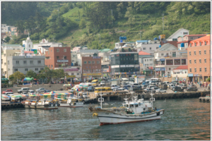 Ulleungdo Island's Dodong Harbour