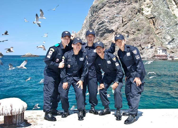 독도 たけしま 獨島 竹島 Korean Dokdo Guards