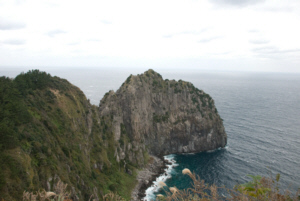 Hyangmok rock on Ulleungdo Island