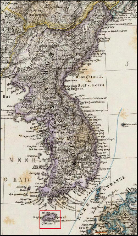 Japanese Cheju Document and Dokdo 獨島 竹島
