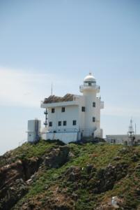 독도 獨島 竹島  たけしま Watchtower on Dokdo Island