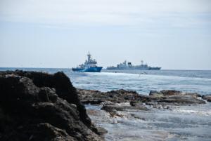 독도 獨島 竹島 たけしま Dokdo Police Boats