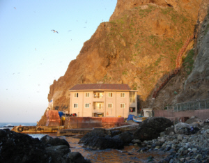 Dokdo residents Kim Seong Do and wife's house 竹島 たけしま 獨島 독도