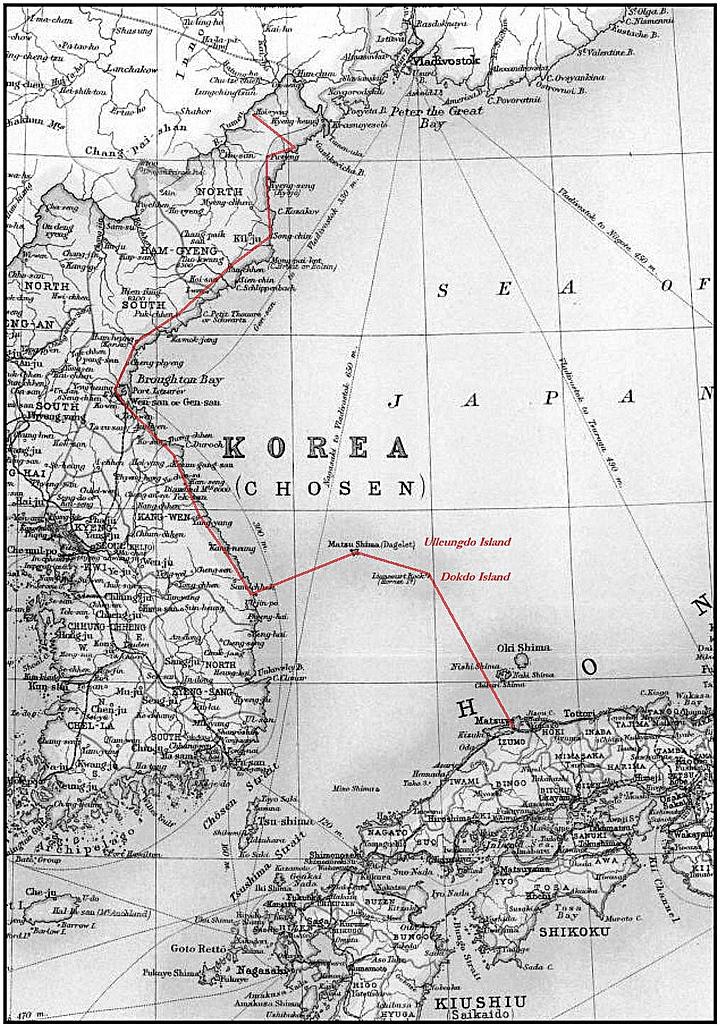 The Russo Japanese War And Dokdo Takeshima Ii Dokdo Takeshima