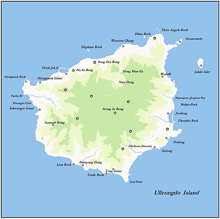 Korea's Ulleungdo Island